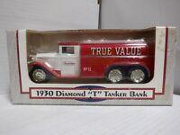"""ERTL 1930 True Value Diamond """"T"""" Tanker Die Cast Bank 012221MGL2"""