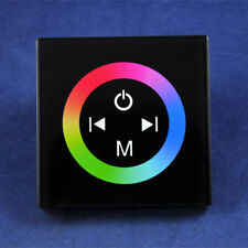 LED Strip Wall Touch Controller Back Glass Panel RGB Dimmer DC 12V 24V