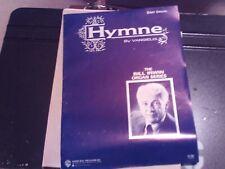 Vangelis, arr Irwin: Hymne; Organ (Warner Brothers)
