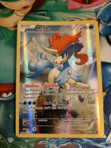 Keldeo Full Art Holo NM-MINT XY188 Pokemon Cards XY Black Star Promo