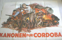Filmplakat,Plakat,KANONEN FÜR CORDOBA,GEORGE PEPPARD,RALF VALLONE '#77