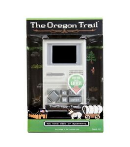 NEW The Oregon Trail Electronic Handheld Video Game Retro Classic Computer Game