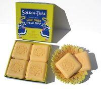 Swedish Dream Sunflower Facial Soap - 4 Bar Gift Set