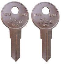 (2) Kobalt Bauer ToolBox Key Pre Cut to Your Keys Code BB01- BB10 Codes Lost Key