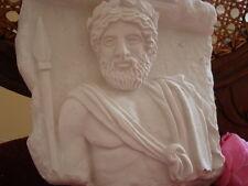 """Stuck - Relief 101-262A - Wandrelief   """"griechischer Gott Zeus"""" - Stuckbild"""