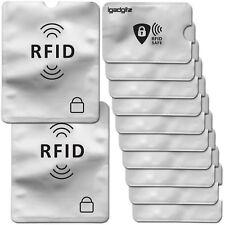 12 Protezione RFID Blocco Porta Carte di Credito Contactless Passporto Custodie