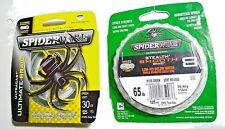 2 packs of  Spiderwire Braid Line