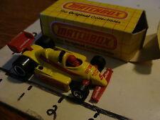 Vintage Matchbox unused in box: MB65 F1 INDY RACER, c. 1984