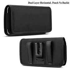 Vertical Cell Phone Belt Clip Holster Pouch Buckle Wallet Card Holder Case Cover