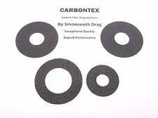 SHIMANO REEL PART Trinidad 30A - (4) Smooth Drag Carbontex Drag Washers #SDS17
