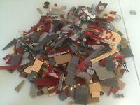 Star Wars LEGO - 1.265Kg Mixed Bricks Plates Parts & Pieces - Bulk & Landspeeder