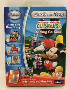 Vtech Create-A-Story Disney Mickey Mouse Clubhouse Mickey Go Seek A12