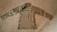 MASSIF L MultiCam Advanced Quarter Zip Combat Shirt Flame Resistant Men NWT $219