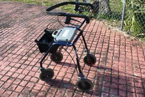 USED MEDLINE Dolomite Legacy Standard Rollator, w/o Basket, 12050 MODEL  N/R