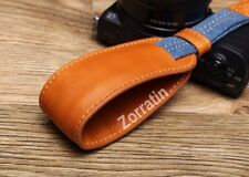 Real leather DSLR Camera Hand Wrist Grip Strap for Sony 5000 5T 5R A6000 A5100