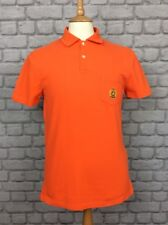 POLO RALPH LAUREN MEN UK S ORANGE CUSTOM FIT POLO SHIRT DESIGNER SMART CASUAL