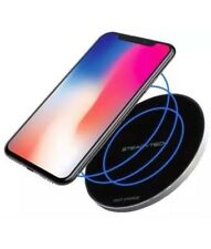 10W STEADYTECH Fast Wireless Charger QI Compatible Apple iPhone & Samsung Galaxy