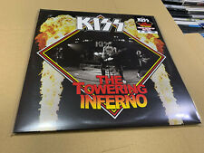 KISS 2 LP THE TOWERING INFERNO 03/10/1975  LIMITED EDITION RED VINYL