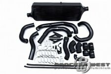 PROCESS WEST Front Mount Intercooler Kit for Subaru 15-16 VA STI-Black