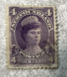 Newfoundland #84 Used 4c Queen Mary