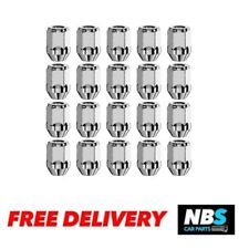 M14 x 1.5, 19mm Hex Alloy Wheel Nuts for Ford Transit Custom. Set of 20.