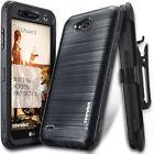 COVRWARE® [IRON] Brush Metal Texture Case LG X Power 2 /  X Charge / Fiesta 2
