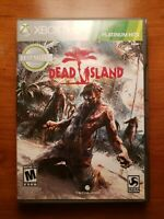 XBox 360 Dead Island Game of the Year Edition Platinum Hits No Manuel