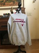 ViNTAGE NBA SEWN ATHLETIC LOGO CHICAGO BULLS XXL RARE GREY  SWEATER