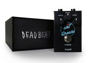 WET DREAMS Analog Chorus Effect Pedal by Deadbeat Sound NEW + FREE DELIVERY