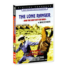 The Lone Ranger And The Lost City of Gold (1958) DVD (*New *Sealed *All Region)