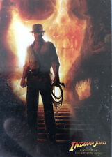 INDIANA JONES AND THE CRYSTAL SKULL TRADING CARD SET TOPPS