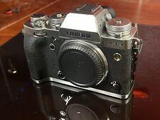 Fujifilm Fuji X-T3 26.1MP Camera Body (Silver) - USED with CAGE