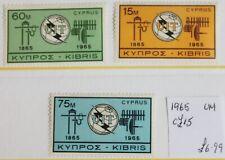 Cyprus – 1965 – ITU Set – Cat. £15 -  UM (R4)