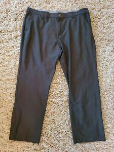 Adidas Mens Gray Athletic Golf Pants Size 40x29