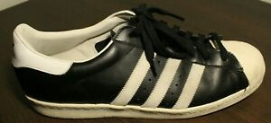 Adidas Originals Superstar Shell Toe Leather Men's Size 14 Shoes G61069 Black