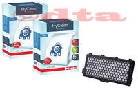 Miele GN HyClean 3D Efficiency Vacuum Cleaner Bags - 2x Boxes + 1x Hepa Filter