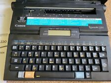 Canon Typestar 220 Portable Typewriter With Digital Screen