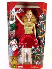 NIB BARBIE DOLL 2001 HOME FOR THE HOLIDAYS CHRISTMAS