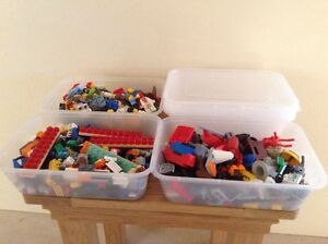 10 x LEGO STORAGE 650ml DISPLAY BOXES - Ideal Small Parts - Storage - Container