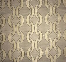 LEE JOFA Groundworks Link Jacquard Steel Italy Woven Remnant New