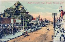 Coney Island Surf Ave, Pike's Peak Prospect Hotel Bklyn