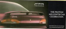 Proton 1997-98 UK Market Small Format Sales Brochure Compact Persona Coupe