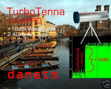 WiFi Antenna 18dBi Waveguide TurboTenna Booster with Tripod N-male RF Connector