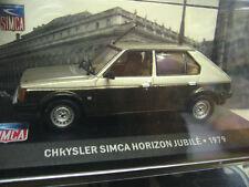 Talbot Chrysler Horizon jubile colección 1979 marrón oro Ixo Altaya 1:43