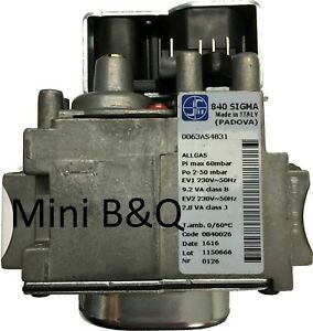 MALVERN M3783 GAS VALVE (SIGMA 840) £55.99 + Vat 9am Delivery Available