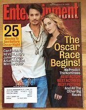 ENTERTAINMENT WEEKLY Magazine #801 January 14, 2005 Johnny Depp Kate Winslet