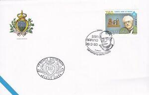 SM109) San Marino 1993 100th Anniversary Of Radio