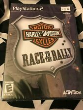Harley-Davidson Motorcycles: Race to the Rally Sony PlayStation 2 PS2 Brand New