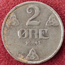 Norway 2 Ore 1943 (D3004)