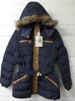 Women Ladies New Short Winter Thick Warm Padded FurHood Puff Parka/Coat/Jacket39